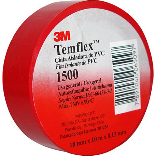 Cinta Aisladora 3M Temflex 1500 (18mm x 10mt)