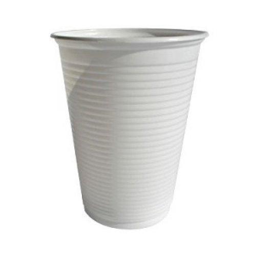 Vaso Plástico Blanco 300cc (100 unidades)
